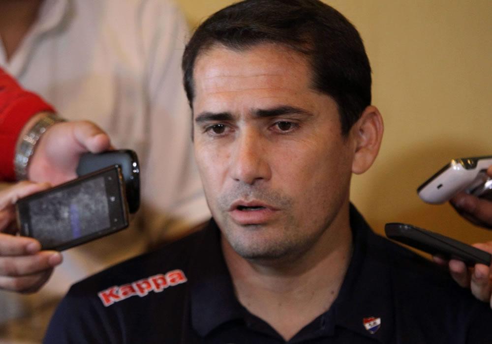 Ignacio Don, el arquero argentino que prefiere ser paraguayo. EFE