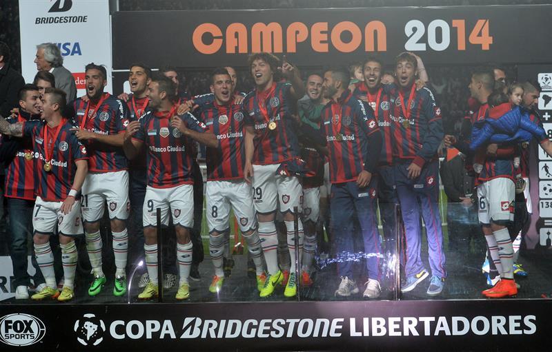 Las imágenes del título de San Lorenzo en la Copa Libertadores