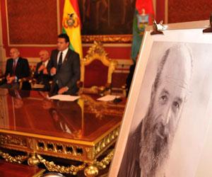 Alfonso Gumucio declarado hijo predilecto de La Paz