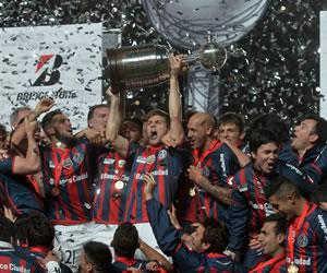 San Lorenzo se coronó campeón de la Copa Libertadores. EFE