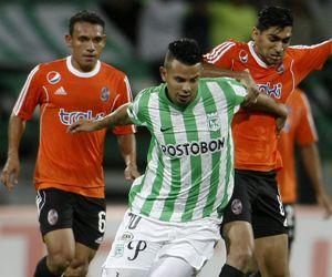 Atlético Nacional avanzó con lo justo en la Sudamericana