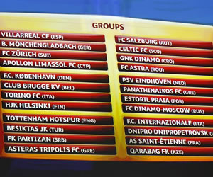 Sevilla y Villarreal al frente de sus grupos hacia la final de Varsovia