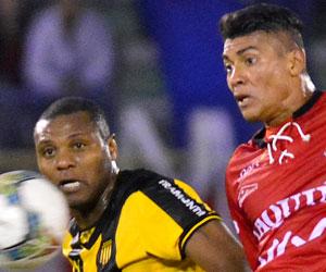 Peñarol humilló a Wilstermann, imágenes de la goleada en Cochabamba