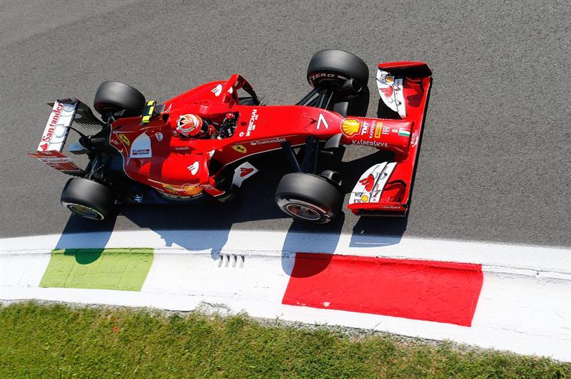 Así fue la clasificación del Gran Premio de Italia en el circuito de Monza. Foto: EFE