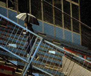 Partidos de Boca y River son suspendidos por lluvia
