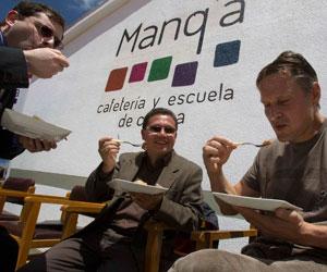 Abren segunda escuela de gastronomía para jóvenes bolivianos