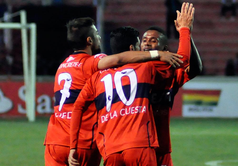 La gráfica del empate entre Universitario y César Vallejo en Sucre