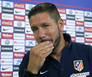 Simeone: 'En Grecia jugamos mal, mañana esperamos jugar bien'