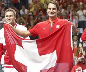 Francia y Suiza disputarán la final de la Copa Davis en noviembre en Lille