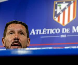 Simeone: 'Deseo un estadio entregado con sus jugadores'