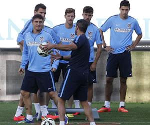 El Atlético de Simeone prepara el duelo contra la Juventus