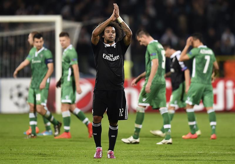 Real Madrid ganó en Sofía y es líder solitario de su grupo