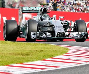 """Rosberg en 'pole' y Alonso quinto en Suzuka, asolada por el """"tifón Vettel"""""""