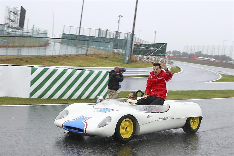 Así fue el Gran Premio de Japón en el circuito de Suzuka. Foto: EFE