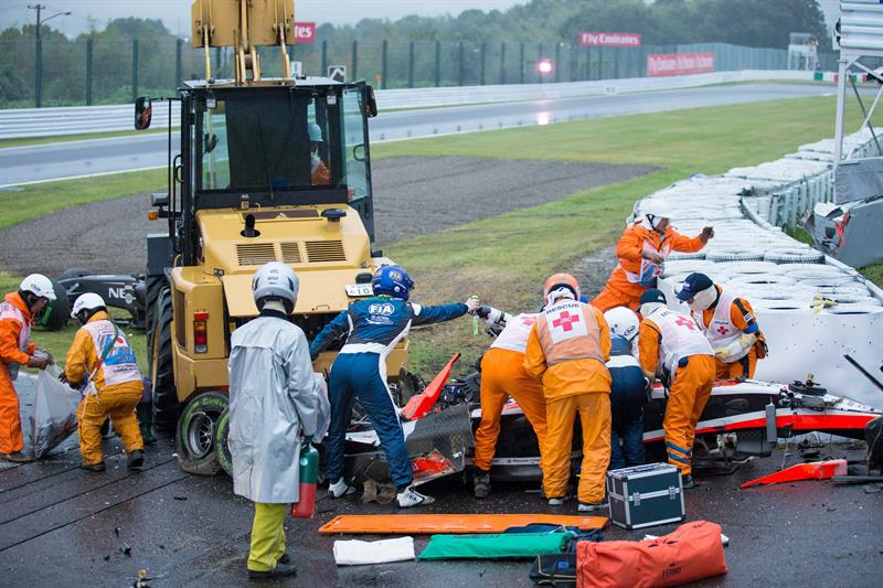 Así fue el Gran Premio de Japón en el circuito de Suzuka. EFE