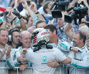 Hamilton más líder al ganar el primer Gran Premio ruso