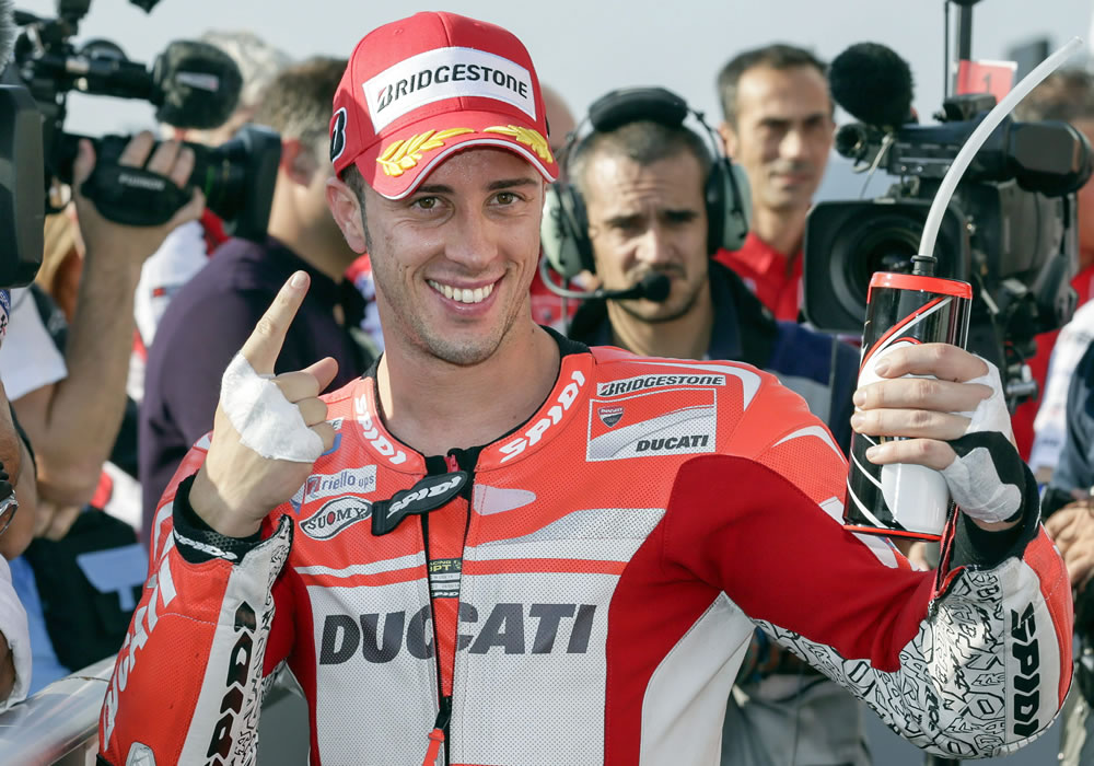 Dovizioso regala a Ducati su primer premio