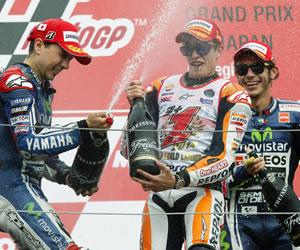 Marc Márquez es ya campeón del mundo, Rabat y Alex Márquez se acercan