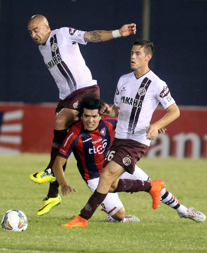 Cerro Porteño venció a Lanús en el Defensores del Chaco