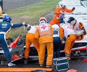 """Marussia niega que ordenara a Bianchi """"ir más rápido"""" con bandera amarilla"""