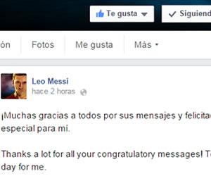 Messi agradece 'estos diez maravillosos años' en el Barça