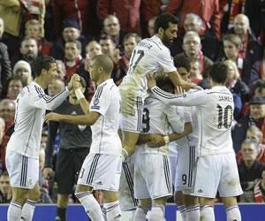 Real Madrid se exhibe ante el Liverpool y cierra heridas en Anfield