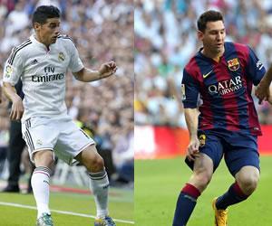 James y Messi entre los 23 candidatos al Balón de Oro 2014