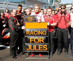 La familia confirma que Jules Bianchi seguirá hospitalizado en Japón