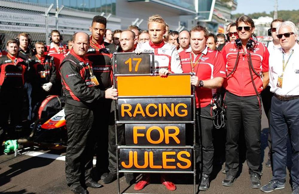 La familia confirma que Jules Bianchi seguirá hospitalizado en Japón. Foto: EFE