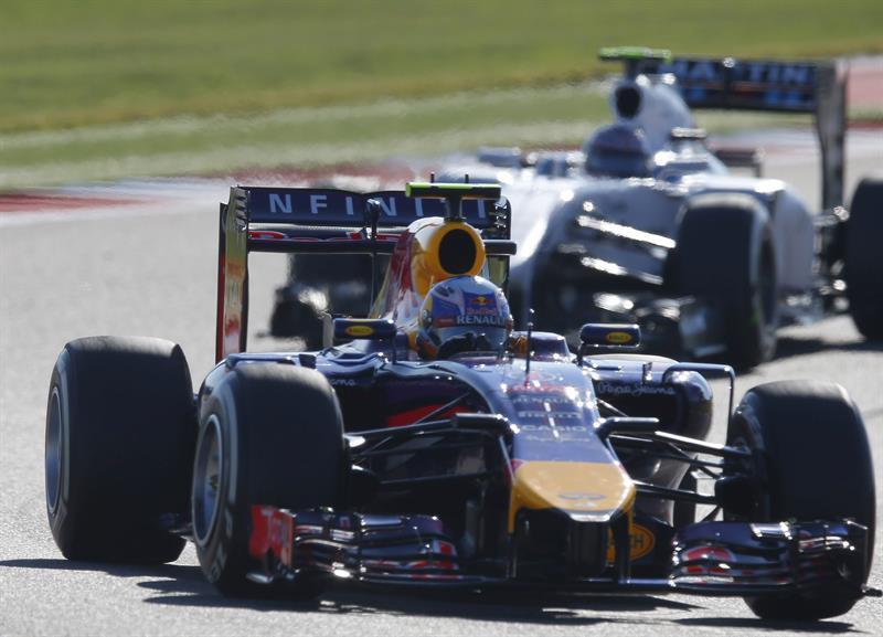 Así fue la clasificación del Gran Premio de los Estados Unidos. Foto: EFE