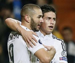 Benzema sella el pase a octavos sin el brillo habitual