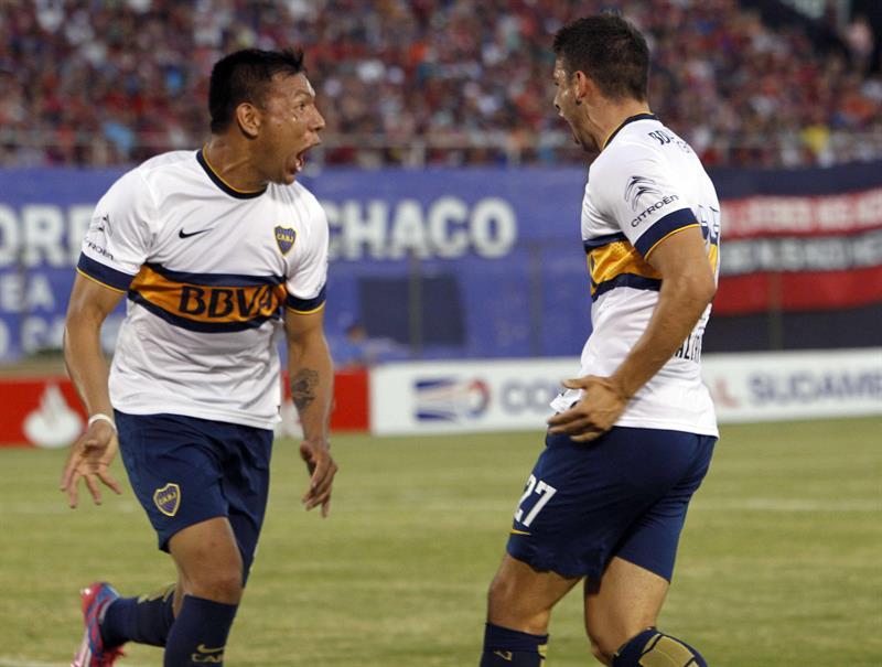 Boca aplastó a Cerro Porteño en el Defensores del Chaco