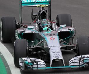 Rosberg resiste a Hamilton en Sao Paulo