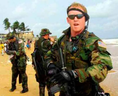 Robert O'Neill, el soldados estadounidense que ejecutó a Osama Bin Laden. Foto: Twitter