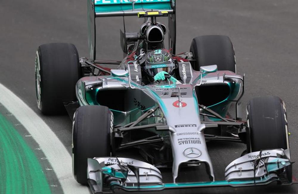 Rosberg lidera otro entrenamiento dominado por Mercedes. EFE