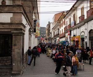 Conjunto arquitectónico de la calle Comercio es patrimonio de La Paz