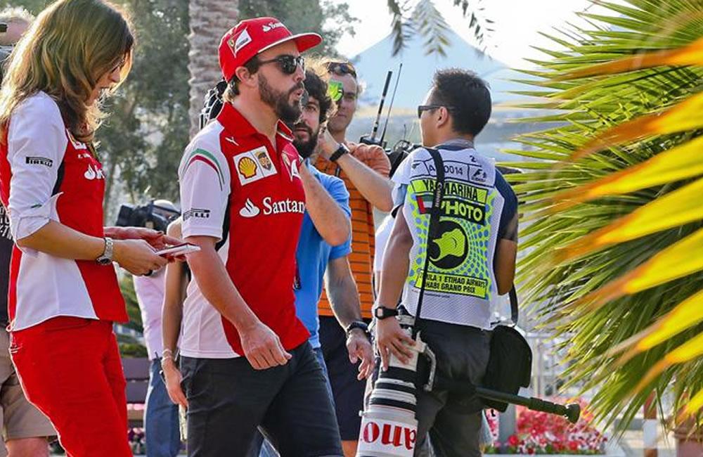 El piloto español Fernando Alonso, de Ferrari. EFE