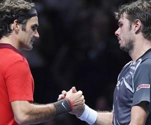 Federer y Wawrinka ponen a Suiza a un punto de la Davis