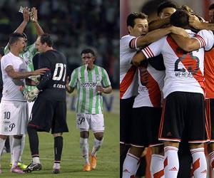 Atlético Nacional y River Plate se citan en la final que ya se les resistió