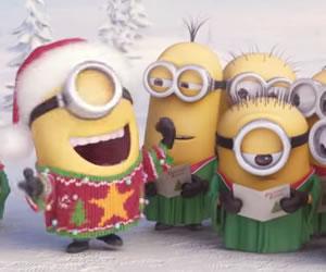 Los minions le cantan a la navidad en un divertido vídeo