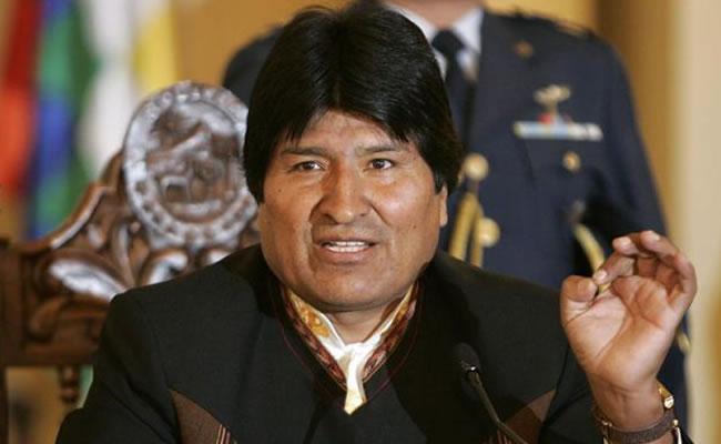 El presidente de Bolivia Evo Morales. Foto: EFE