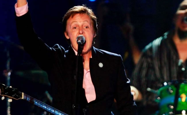Paul McCartney. Archivo EFE