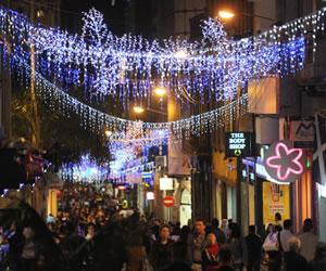 Santa Cruz: Barrio Lindo inicia feria de navidad