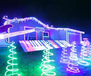 La magia de la navidad: luces, música y mucho color