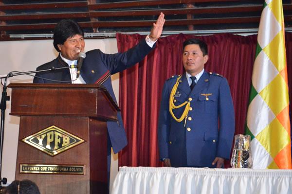 Presidente anuncia inicio de erradicación de 40 has de coca. Foto: ABI