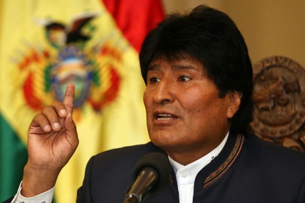 El presidente Evo Morales. Foto: EFE