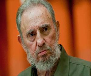 Reaparece Fidel Castro y afirma que no confía en EE.UU, pero aún así apoya los diálogos
