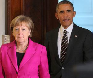 Merkel no apoya vía militar en Ucrania pero respetará decisión de EEUU