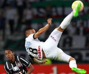El empate entre Once Caldas y Corinthians en imágenes