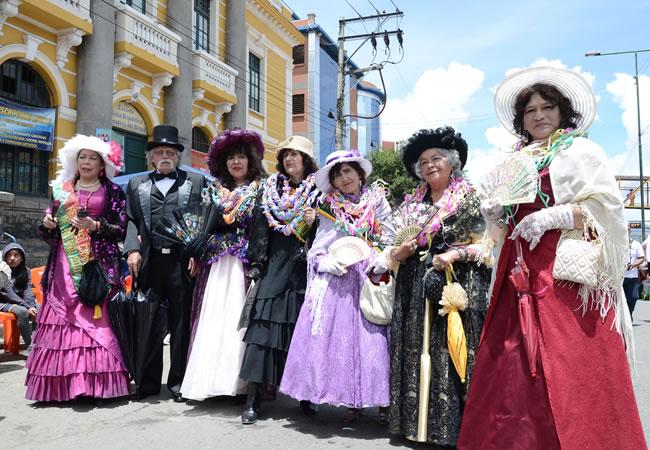 La Paz es escenario del Jisk'a Anata en el tercer día de Carnaval